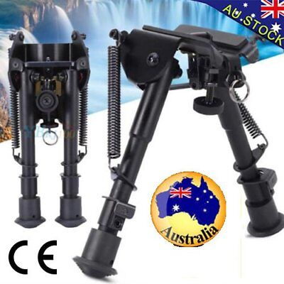 "HOT Adjustable 6"" to 9"" Height Sniper Hunting Rifle Bipod Sling Swivel Mount  BS"