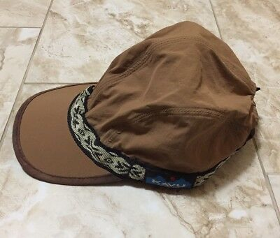0dfddaa0a9f VTG KAVU HAT Dark Khaki Canvas 4 Panel Large Cap Adjustable Ball Cap ...