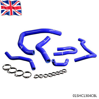 UK Silicone Radiator hose Pipe Kit For HONDA CIVIC TYPE R EG EK B16A B18C Blue