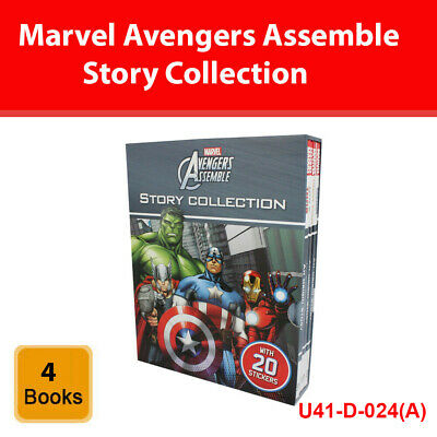 Marvel Avengers Assemble Story Collection 4 books set pack NEW [HB]
