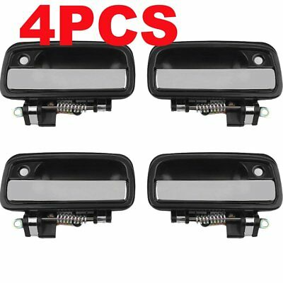 2pair Car Front Left Driver Side Outer Door Handle for Toyota Camry 1995-2004 UR