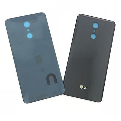 Black Replacement Back Glass Rear Cover  Door For LG Q Stylo 4 Stylus Q710 USA