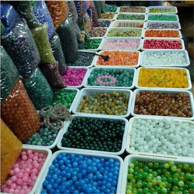 Lots Jewelry DIY Handmade Process Accessories Natural Gemstone Round Loose Beads