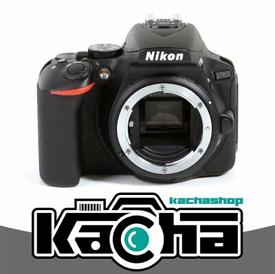 NUOVO Nikon D5600 Digital SLR Camera Body Only (Black) (Kit Box)