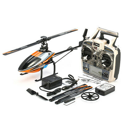 WLtoys V950 2.4G 6CH 3D 6G 6-axis System Brushless Flybarless Helicopter RC Toy