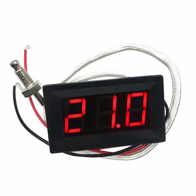 LED Autothermometer Innen/Außen DC 12V Auto KFZ Thermometer Digital  YY HOT