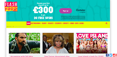 Celebrity News, Betting & Casino Review Website with Affiliate Accounts