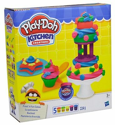 Hasbro Play Doh Kitchen Creations Backset Knete Kuchen Törtchen Backen 102256