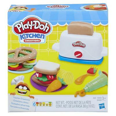 Play Doh Kinder Knete Set Toaster Knetzubehör Knetgummi Kitchen creations 102478