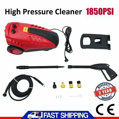 1800W 1850PSI High Pressure Washer Petrol Water Pump Cleaner Gurney 3M Hose