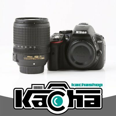 NUEVO Nikon D5300 Digital SLR Camera Black + AF-S 18-140mm f/3.5-5.6G VR
