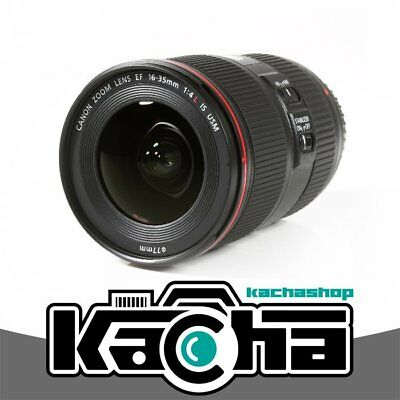 NUEVO Canon EF 16-35mm f/4L IS USM Lens