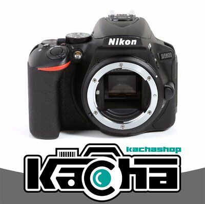 NUEVO Nikon D5600 Digital SLR Camera Body Only (Black) (Kit Box)