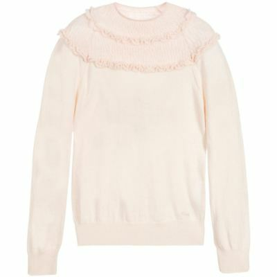 Chloé Girls Pink Knitted Sweater 5 Years