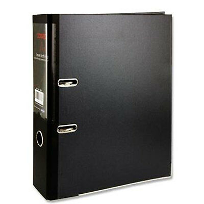 1 2 4 5 A4 Large 75mm Lever Arch File Office Documents Storage Metal Clip Folder