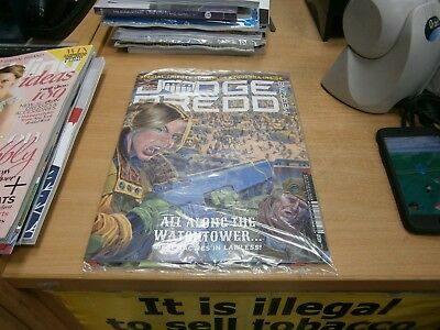 2000AD Judge Dredd megazine #402 18th Dec 2018 All Along the Watchtower