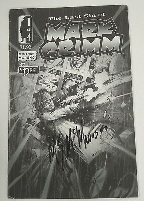 Last Sin of Mark Grimm (2006) #1 Signed by M. Sean McManus Ref. 121138
