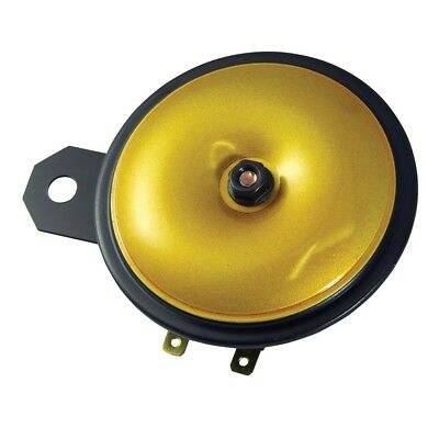 Bike It Motorrad Hupe Universell 12v 110db 90mm Gold Hor12vgd Bc39380 - T