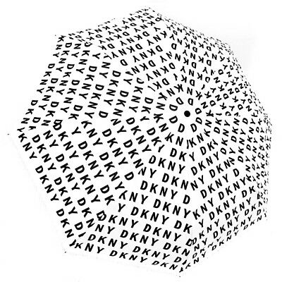 NEW Genuine DKNY Automatic Open Logo Umbrella Brolly - Perfect Gift