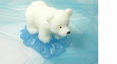 3D Polar Bear Bear Silicone Mould for soaps, candles, etc