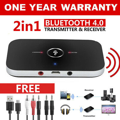 HIFI Wireless Bluetooth 2 in1 Audio Receiver Receiver 3.5MM RCA Music Adapter GR
