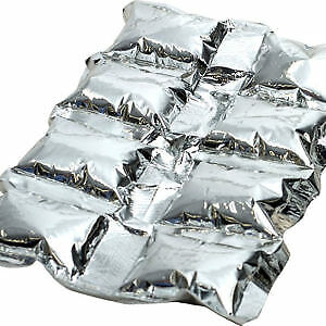 Ice Packs for Food Delivery Bags Freezer Blocks Cool Frozen Cubes Frozen Icepad