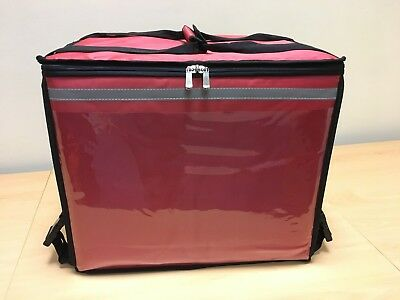 Take Away Food Backpack/Rucksack Holdall Delivery Bag for Scooter/Bike Red TT11R