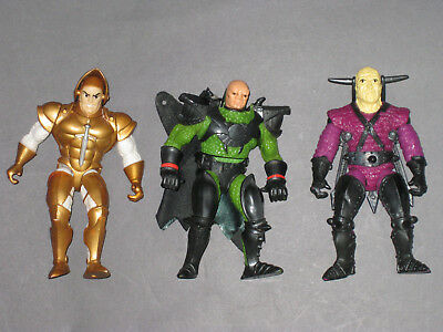 King Arthur And The Knights of Justice Action Figures Mattel 1992