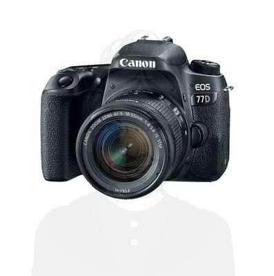 Autentico Canon EOS 77D Digital SLR Camera with 18-55mm Lens