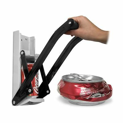12oz Can Crusher Recycling Tool Wall Mounted 350ml Beer Tin Bottle Opener