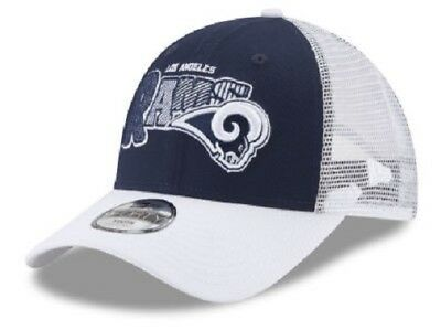 Los Angeles Rams NFL New Era 9Forty Youth Trucker Snapback Hat