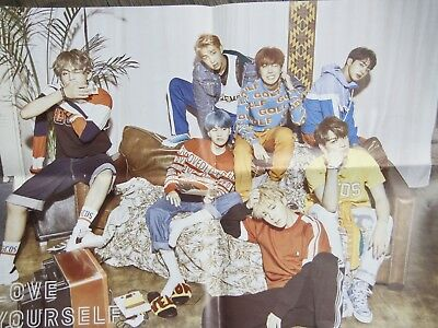 [BTS]Love Yourself/D.N.A/Official Poster Bromide FOLDED POSTER 4