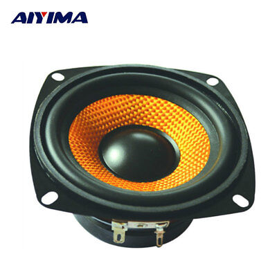 AIYIMA 4Inch Audio Portable Speaker 4Ohm 15W Bass Subwoofer Multimedia Speaker