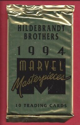 FLEER 1994 MARVEL MASTERPIECES HILDEBRANT BROTHERS TRADING CARDS single Pack