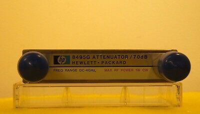 (RF1780) HP-AGILENT PROGRAMABLE ATTENUATOR * Model: 8495G * DC to 4GHz