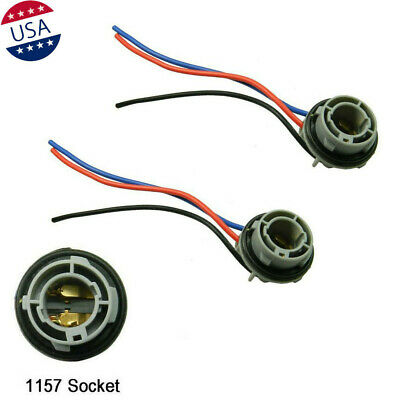 1157 2057 2357 Socket Adapter Harness Wiring For Turn Signal Light Bulb