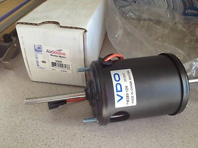 New Air Source Stud Mounted Blower Motor 12V with 2 Wires 3389 09143389 PM389