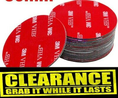 3M Strong Double Sided Sticky Pads Mounting Round Glue Strip 50mm 30mm Cheap