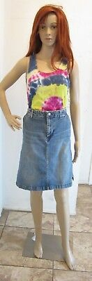 """AMERICAN EAGLE  Jean Skirt Stretch Size 12 , Length 21"""""""