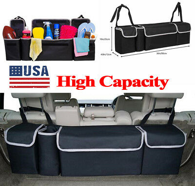 Capacity Multi-use Oxford Car Seat Organizers For Interior Accessories Back US