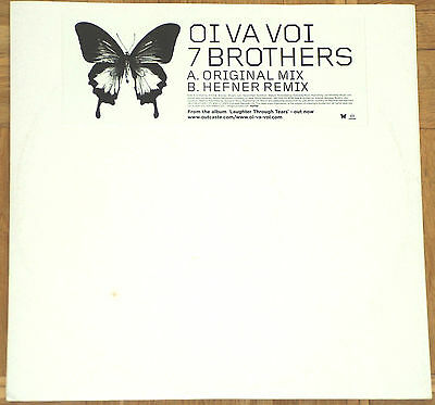 "10"" Vinyl Oi Va Voi ‎- 7 Brothers (Hefner Remix, Lee Jones)"