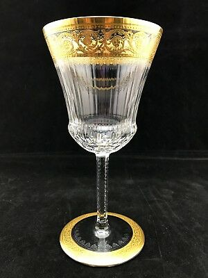 St. Louis Thistle Crystal Vintage Wine Glass 7.5 inch - ONE STEM - LAST ONE!