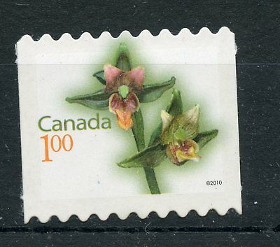 Weeda Canada 2358ii VF NH Die cut Flower coil single, from Annual Collection