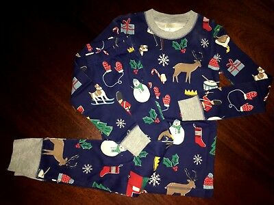NWT 7 Mini Boden Pajamas Full Length Christmas Pajamas LAST Pair
