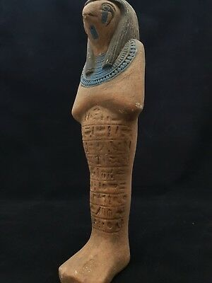 ANCIENT EGYPTIAN ANTIQUE HORUS Falcon Statue Gods EGYPT Hand Carved Stone 300 BC