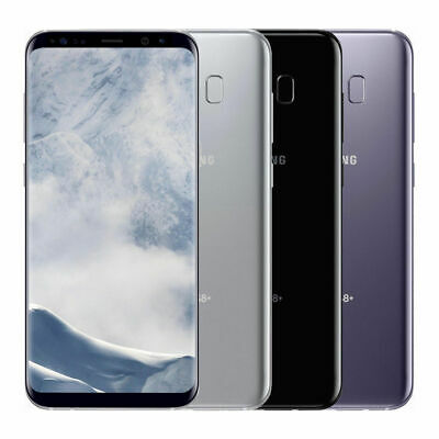 Samsung Galaxy S8+ Plus G955U 64GB GSM Unlocked (+AT&T T-Mobile Verizon) 4G LTE