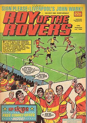 (-0-) Roy Of The Rovers Comic 14Th July 1984