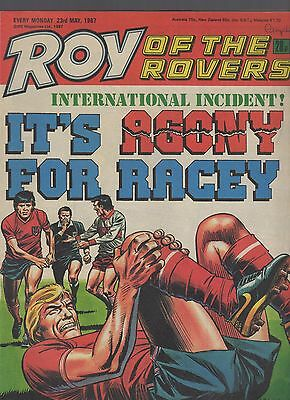 (-0-) ROY OF THE ROVERS COMIC 23rd May 1987
