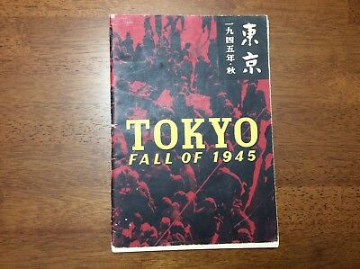 WWII TOKYO FALL OF 1945 Photography Book Japan Japanese Super Fortress