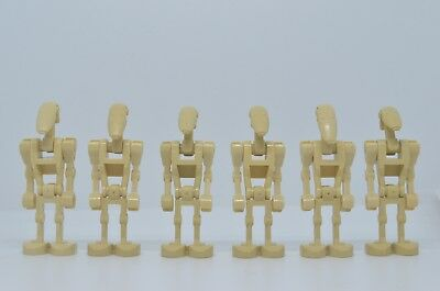 Lego® Star Wars™ Figuren Armee 6x Battle Droid Kampfdroiden sw001b